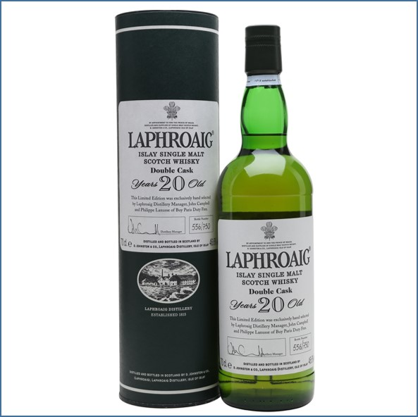 Laphroaig 20 Year Old Double Cask 70cl 46.6%