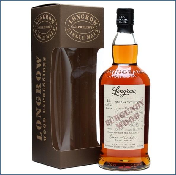 Longrow 14 Year Old 1997-2011 Burgundy Wood Campbeltown Single Malt Scotch Whisky 70cl 56.1%
