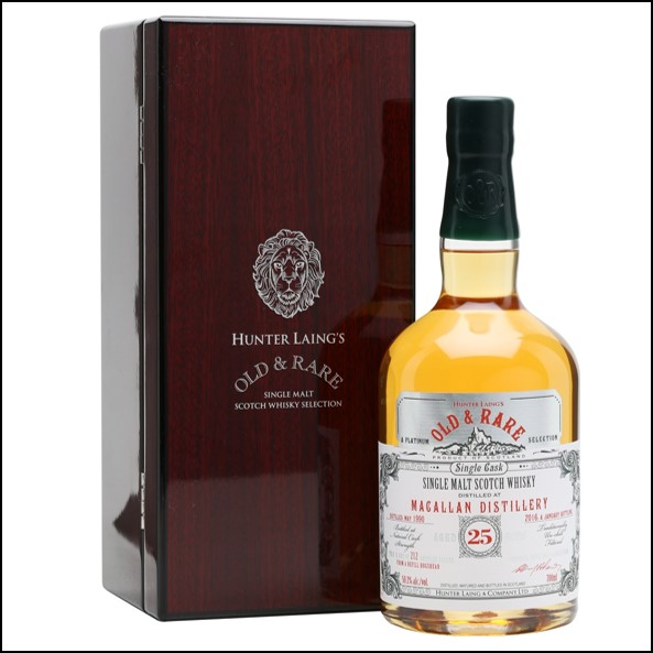 Macallan 25 Year Old 1990 – 2016 Old and Rare Platinum Douglas Laing 70cl 50.3%