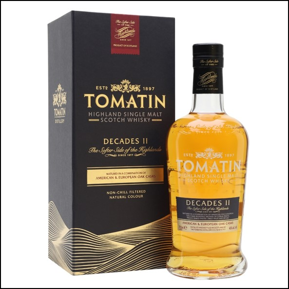 Tomatin Decades II 70cl 46%