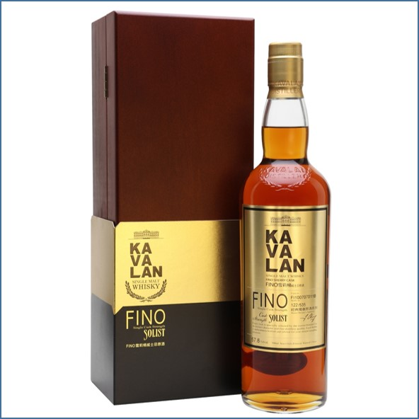 Kavalan Solist Fino Sherry Cask #011B (2010) Taiwanese Single Malt Whisky 70cl 57.8%