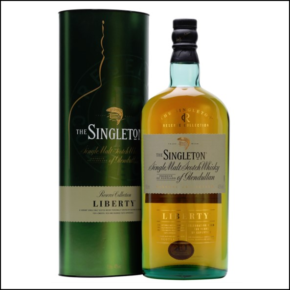 The Singleton of Glendullan Liberty 100cl 40% 蘇格登 LIBERTY收購Glendullan