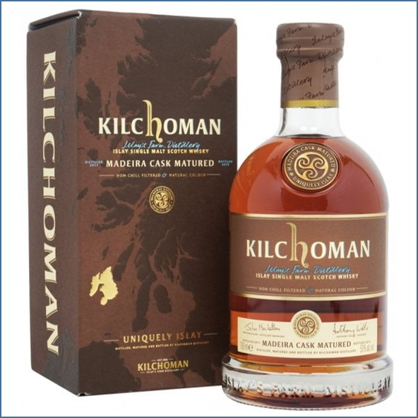 Kilchoman 2015  4 Years Old Madeira Cask 2011 70cl 50%