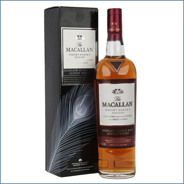 Macallan Whisky Maker's Edition - X-Ray 5 - Natural Colour