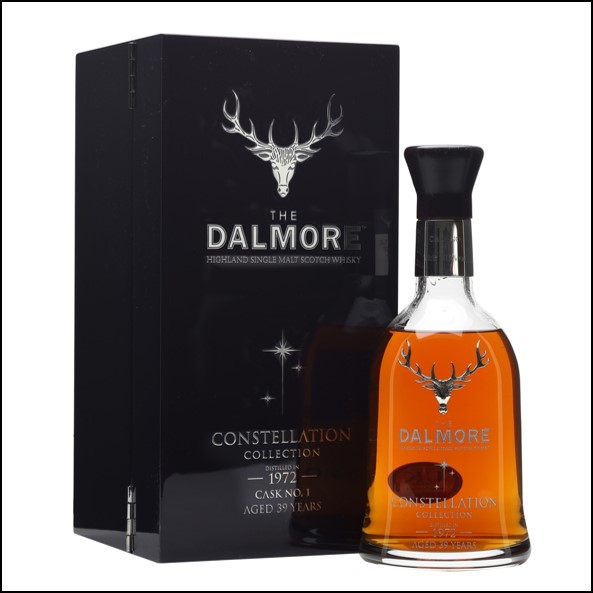 DALMORE CONSTELLATION 1972 39 Year Old Cask 1 70cl 47.5%  大摩39年威士忌收購