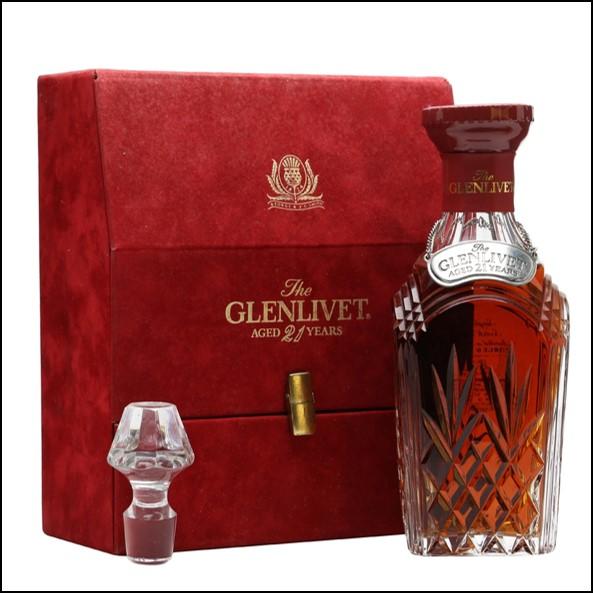 Glenlivet 21 Years Old Decanter 75cl 43%