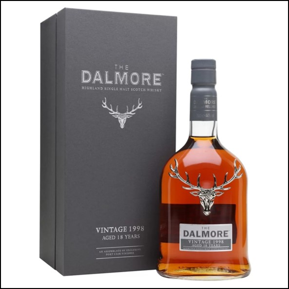 DALMORE 1998 18 Year Old Port Vintages Collection 70cl 44%  大摩1998 18年威士忌收購