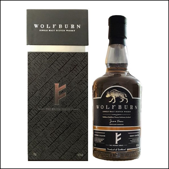 Wolfburn Kylver Series Release 1 3 years old 2016 Highland Single Malt Scotch Whisky 70cl 50%