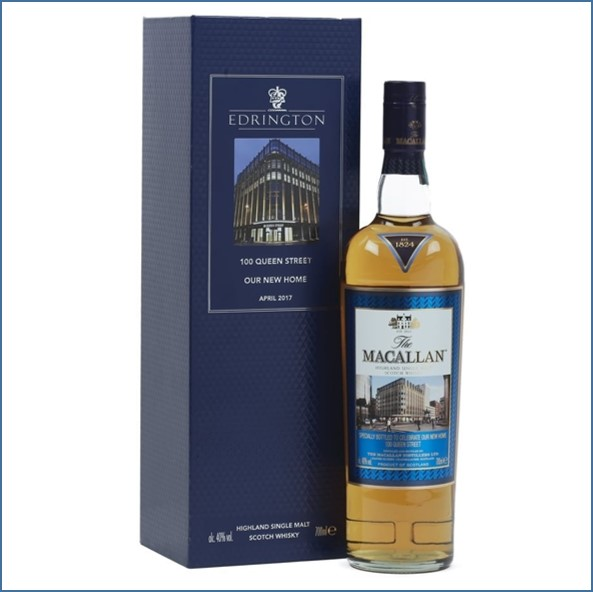 Macallan Edrington's New Home Celebratory Bottling 2017 70cl 40%