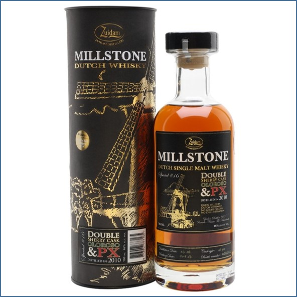 Millstone  8 Year Old 2010 Special Single Malt Dutch Whisky 70cl 46%