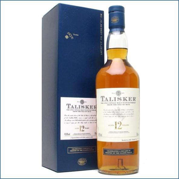 Talisker 12 Year Old Friends Of Classic Malts 70cl 45.8%