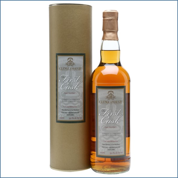Glenglassaugh Distillery 3 Year Old The First Cask Cask #1 Sherry Butt 2008 70cl 59.1%