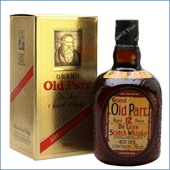 Grand Old Parr 12 Year Old Bot.1980s 75cl 43%