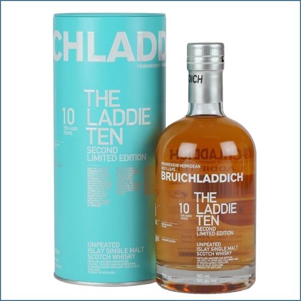 布萊迪收購 Bruichladdich Laddie Ten 10 Year Old  2nd Edition 70cl 50%