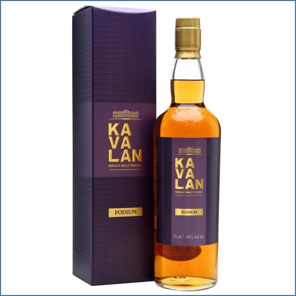 Kavalan Podium Taiwanese Single Malt Whisky 70cl 46%