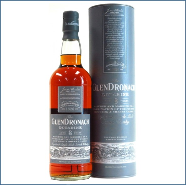 Glendronach 8 Years Old  Octarine 70cl 46%