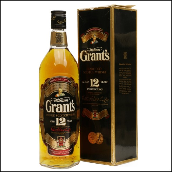 Grant's 12 Years Old 70cl 40%