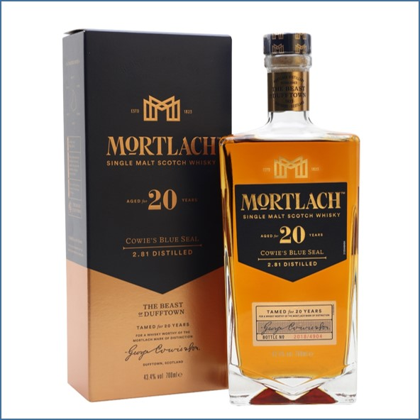 Mortlach 20 Year Old 70cl 43.4%