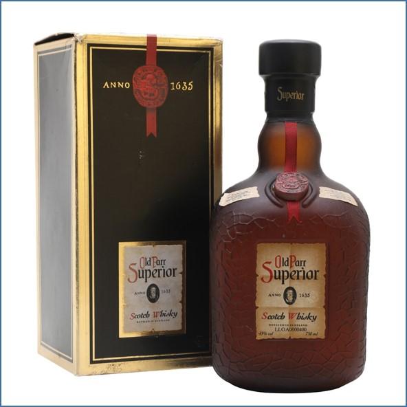 Old Parr Superior Blended Scotch Whisky 75cl 43%