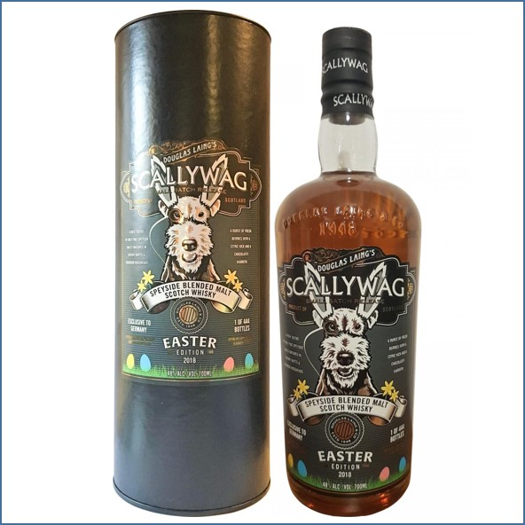 Scallywag Easter Edition 2018 No.1 Blended Malt Scotch Whisky Douglas Laing 70cl 48%