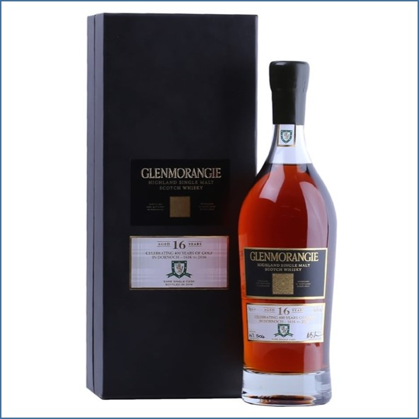 Glenmorangie 16 Year Old 400 Years Of Golf (1616-2016) 70cl 56.4%