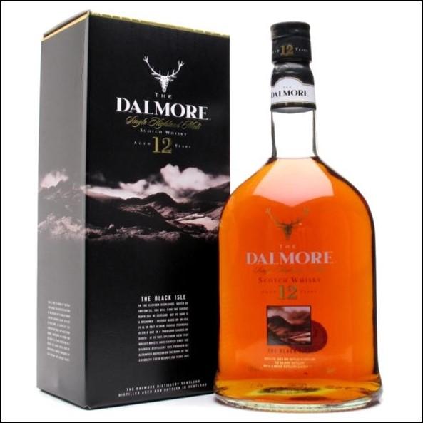 DALMORE 12 YEAR OLD The Black Isle 100cl 40%  大摩12年威士忌收購