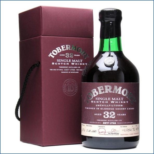 收購托本莫瑞32年  Tobermory 32 Year Old 1972 Oloroso Sherry Finish 70cl 49.5%