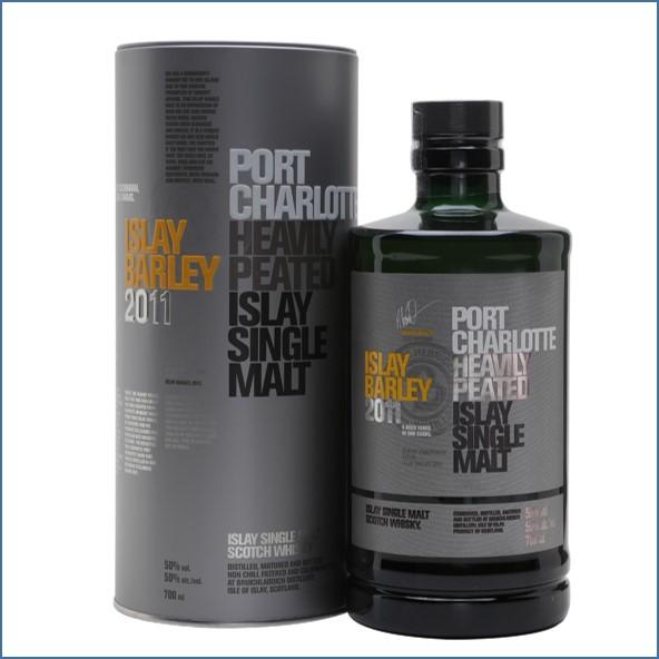 布萊迪收購 Port Charlotte 2011 Islay Barley 70cl 50%
