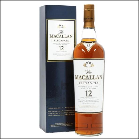 收購麥卡倫12年 ELEGANCIA-曼妙瓶/Macallan Elegancia 100cl 40%