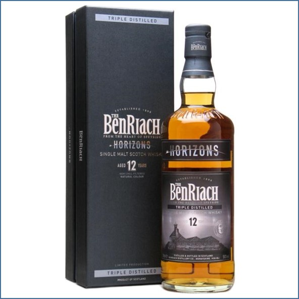 Benriach 12 Year Old Horizons Triple Distilled Sherry Finish 70cl 50% 班瑞克12年 地平線三次蒸餾