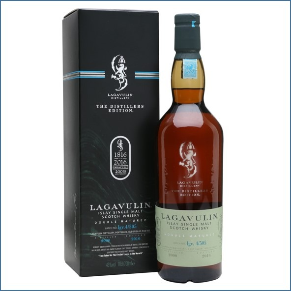 LAGAVULIN 2000 DISTILLERS EDITION Bot.2016 70cl 43% 拉加維林收購 2000-2016 雙桶