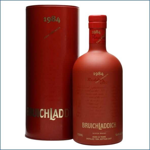 Bruichladdich 1984 22 Year Old Redder Still 75cl 50.4%