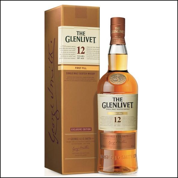 GLENLIVET 12 YEAR OLD First Fill 40%