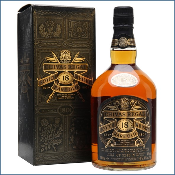 Chivas Regal 18 Year Old Bot.1990s 70cl 40%