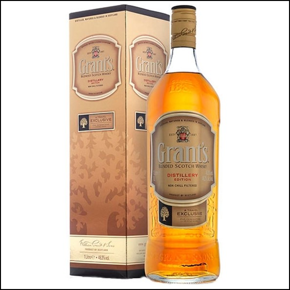 Grants Distillery Edition Blended Scotch Whisky 100cl 50%