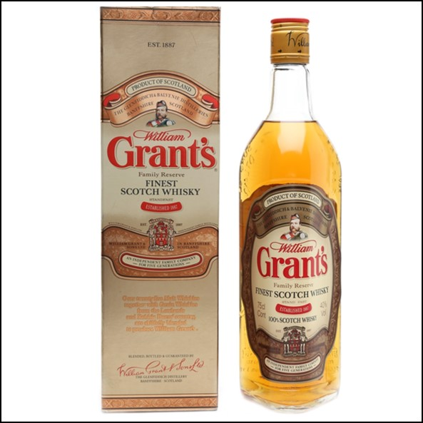 Grant's Family Reserve Bottled 1980s 75cl 40%