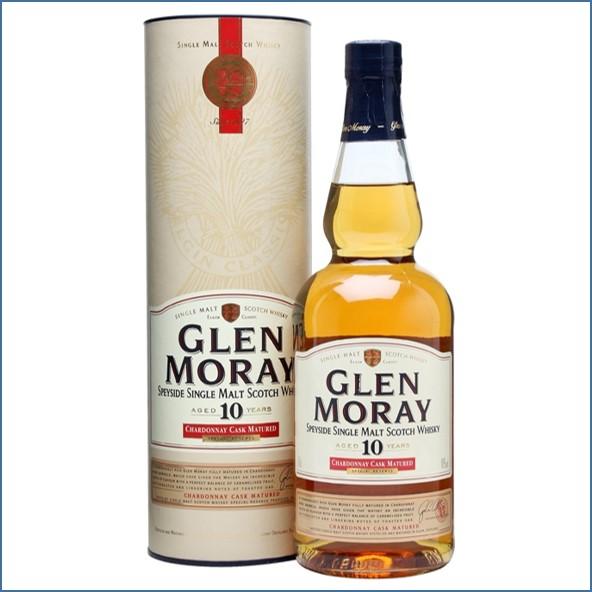 Glen Moray 10 Year Old Chardonnay Cask 70cl 40%
