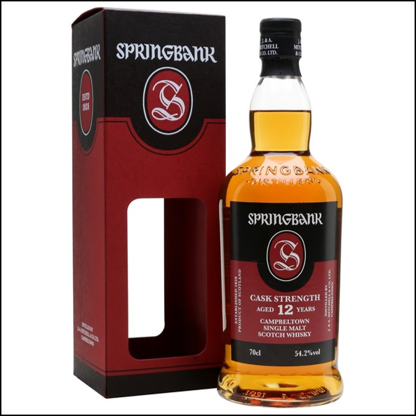 雲頂12年原酒威士忌收購/Springbank 12 Year Old Cask Strength 14-18 Campbeltown Single Malt Scotch Whisky 70cl