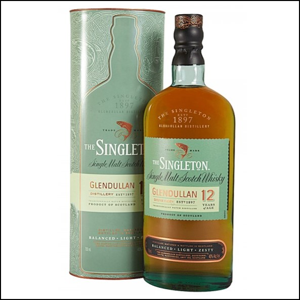 The Singleton of Glendullan Ord 12-year-old 70cl 40% 蘇格登12年收購