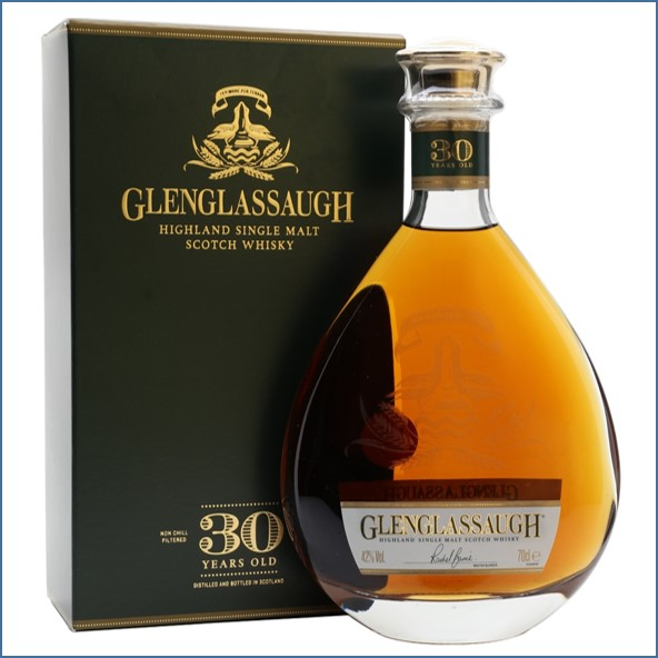 Glenglassaugh 30 Year Old Highland Single Malt Scotch Whisky 70cl 42%