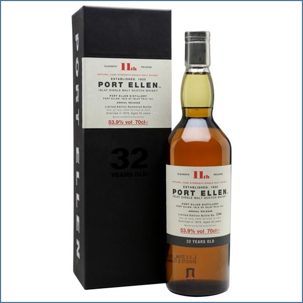 Port Ellen 1979  32 Year Old  11th Release  2011 70cl 53.9%