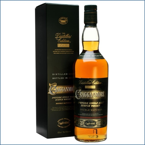 Cragganmore 2013 Distillers Edition 2000 Speyside Single Malt Scotch Whisky 70cl 40%