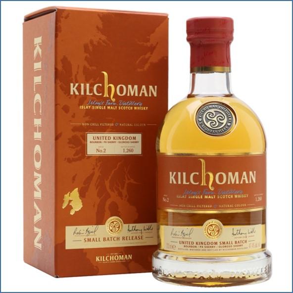 Kilchoman UK Small Batch Batch 2 70cl 47.4%
