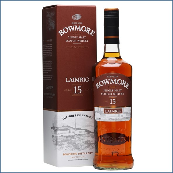 Bowmore 15 Year Old - Laimrig Batch 4 70cl 54.1% Sherry Finish 2014