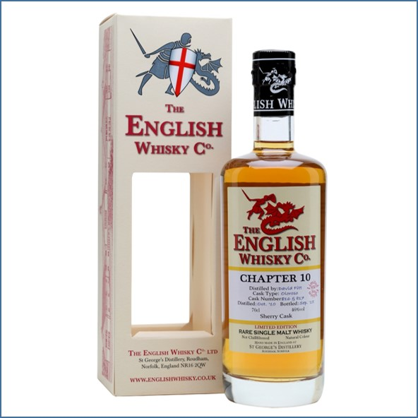 English Whisky Co. Chapter 10  Oloroso Matured 70cl 46%