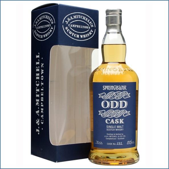 雲頂威士忌12年收購ODD/Springbank 12 Year Old ODD Light Rum Cask #282 1997 Campbeltown Single Malt Scotch Whisky 70cl 59.5%