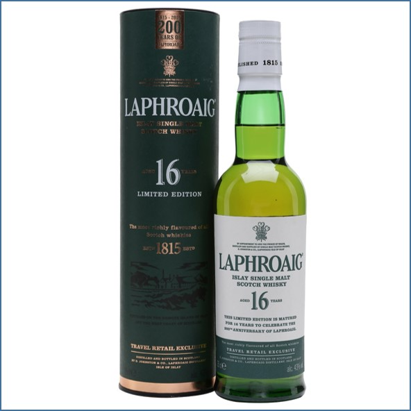 Laphroaig 16 Year Old Travel Exclusive 35cl 43%