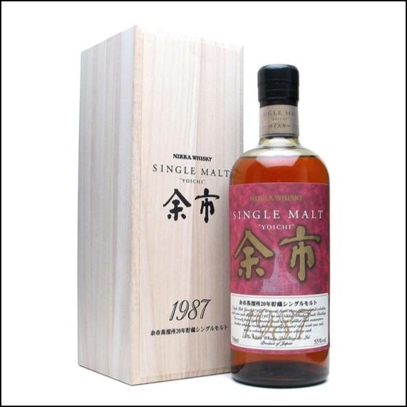余市威士忌1987