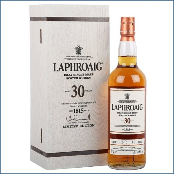 Laphroaig 30 Year Old Bot.2016 70cl 53.5%