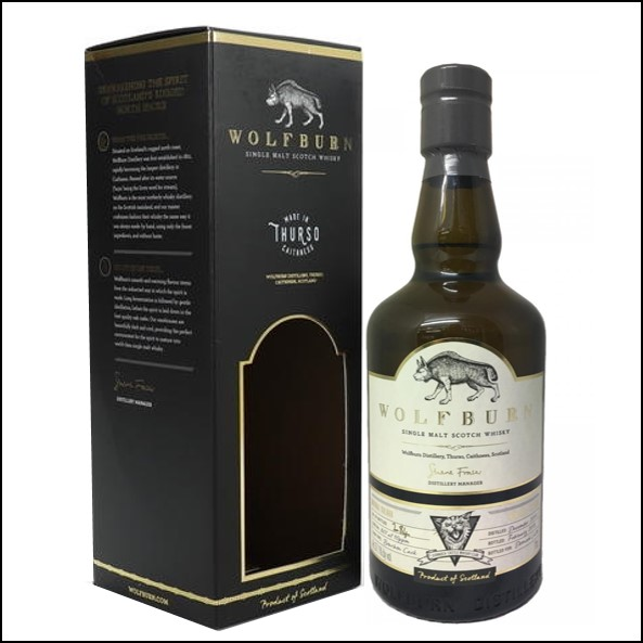 Wolfburn 4 years old Dornoch Castle Whisky Club 2014-2018 #807 Bourbon Cask 70cl 57.1%
